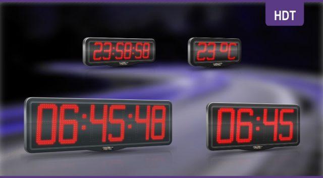 Horloges à LED