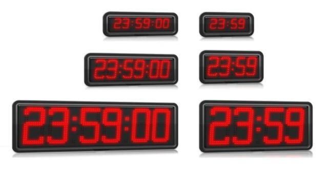 Horloge Electronique - Caisson Thermoformé