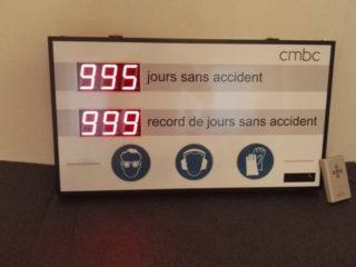 CMBC - nombre de jours sans accident - 6 digit 5.7cm