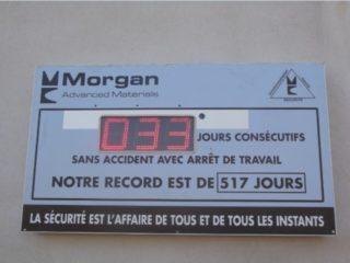 Prolians - Jours sans accident - 3 digit 16cm