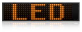 LED ambre