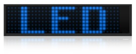 LED bleues