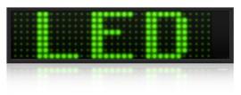 LED vertes