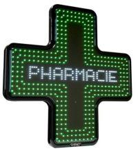 Croix de Pharmacie LED - Caisson thermoformé