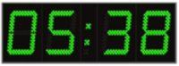 Horloges à LED - vert